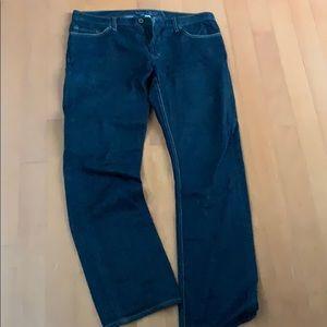 Banana republic vintage straight jeans dark wash